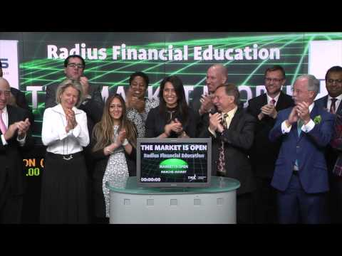 Radius Financial Education opens Toronto Stock Exchange, May 20, 2015