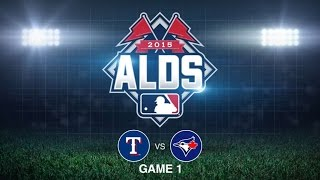 10/8/15: Texas looks right at home in Blue Jays
