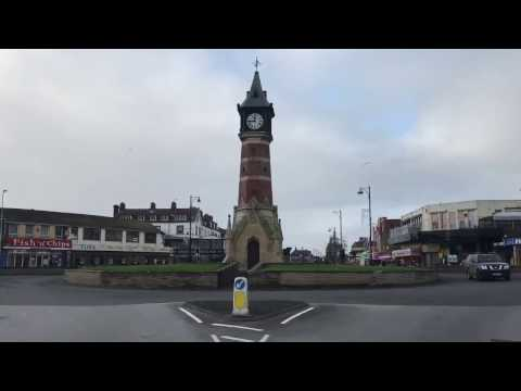 Skegness Town center and seaside