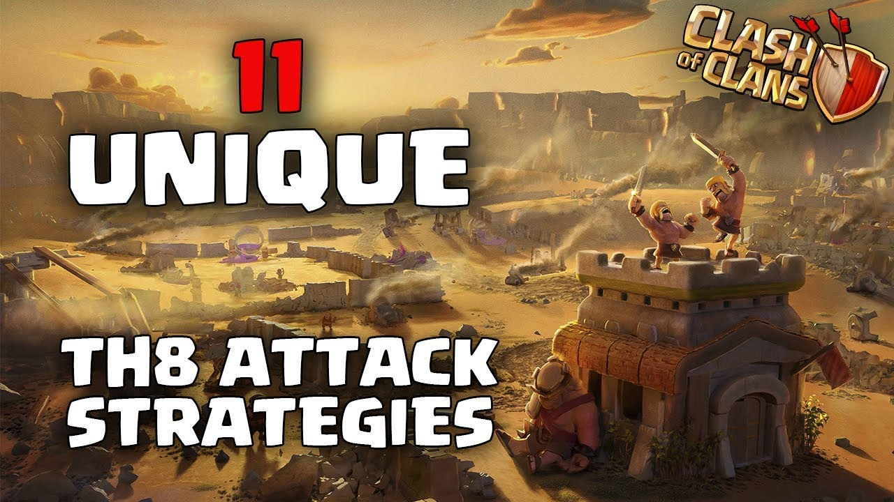youtube clash of clans attack strategy