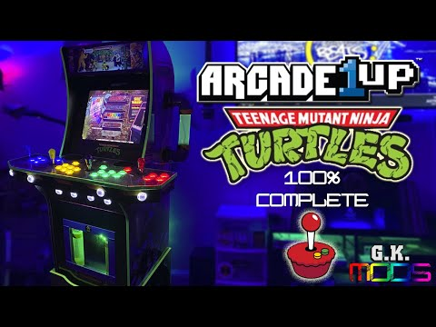 Arcade1up TMNT Mod (Laboratory Mod) 100% Complete! from G.K. MODS