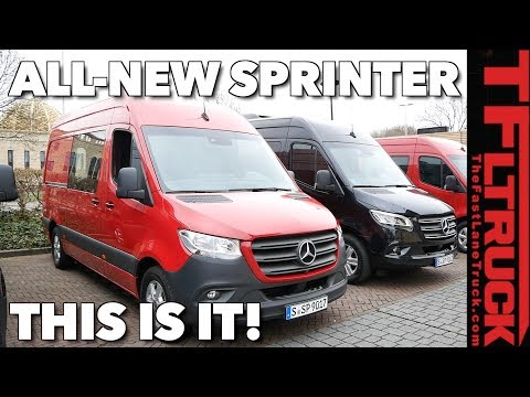 2019 Mercedes-Benz Sprinter Cargo, Passenger and Chassis Cab Van Review