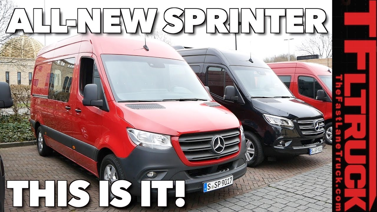 2019 Mercedes Benz Sprinter Cargo Passenger And Chassis Cab Van Review