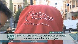 Madrid-Oviedo Non-Stop en bicicleta. 'Con2...Ruedas' Capítulo 2.  CA Asturias