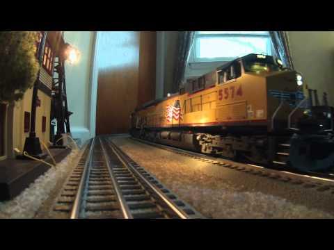 MTH Premier Union Pacific GE AC4400CW & Dash-9 Locomotives