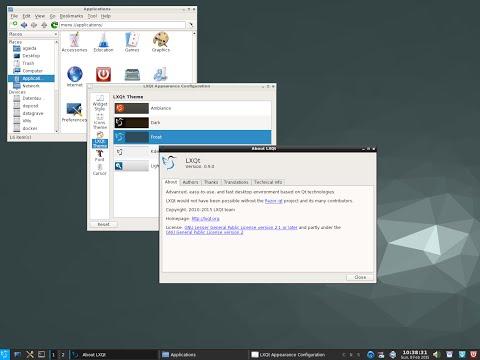 LXQt Full Review 1080p - Lightweight Qt Desktop Environment and Razor Qt & LXDE Union