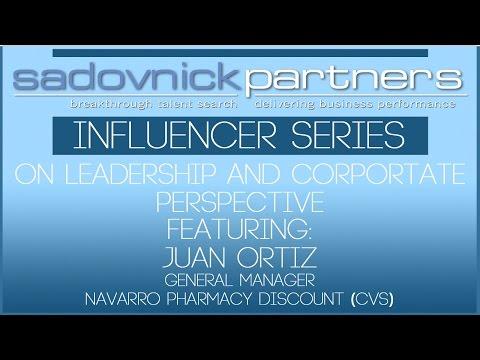 Juan Ortiz - General Manager – Navarro Discount Pharmacy (CVS) - Influencers