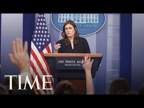 Sarah Sanders Delivers The First White House Press Briefing Of The New Year | TIME