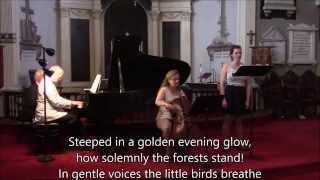Brahms Opus 91 Gestillte Sehnsucht: Longing Eased