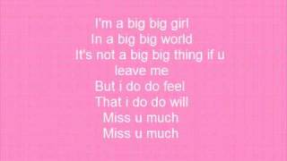 big Big world - Emilia + Lyrics