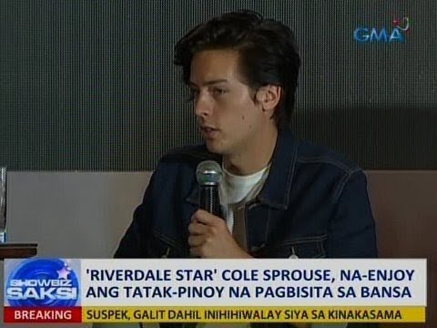 Saksi: 'Riverdale star' Cole Sprouse, na-enjoy ang taktak-Pinoy hospitality