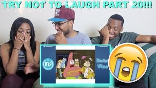 Couple Reacts : TRY NOT TO LAUGH OR GRIN PART 20!! With METROO!!