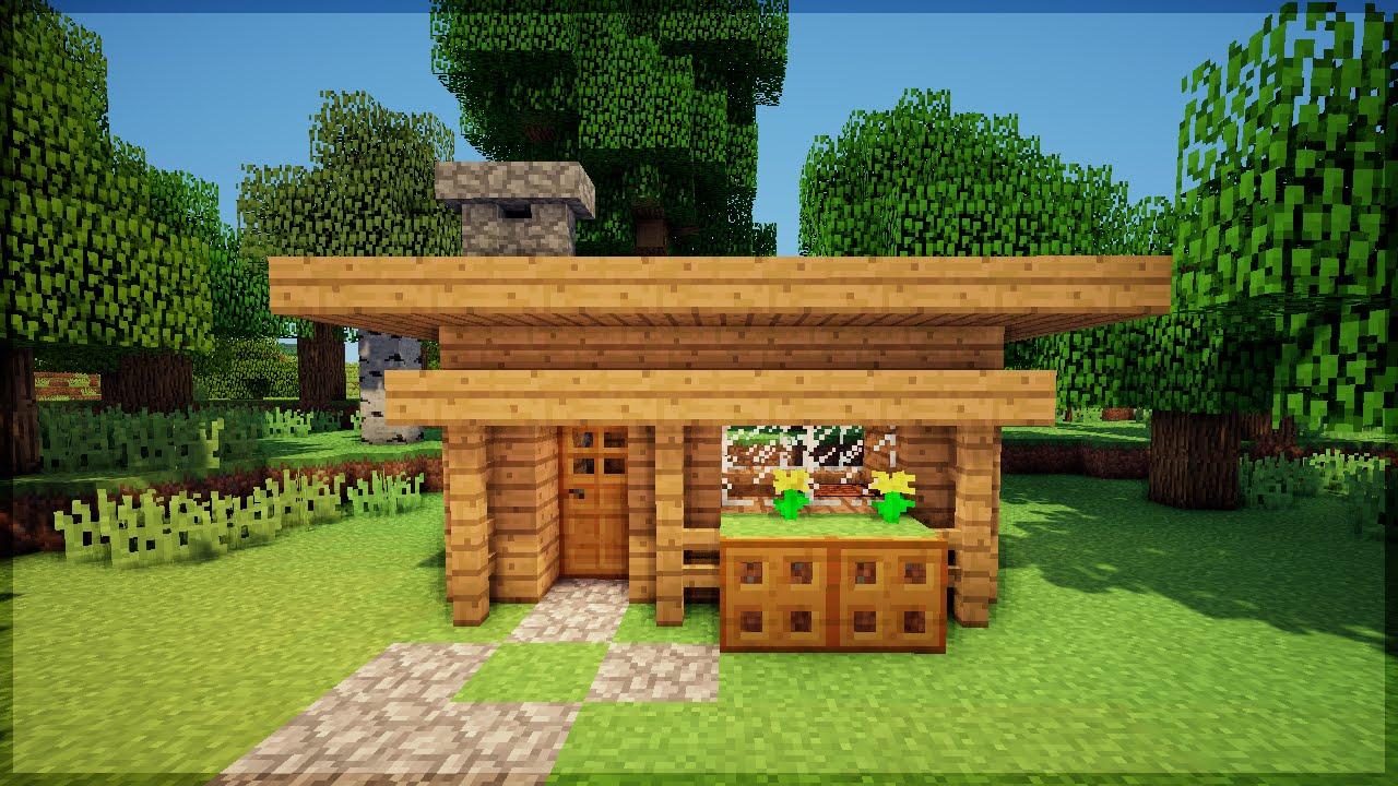 Minecraft Construa Uma Casa Bonita Em 5 Minutos No