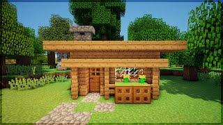 minecraft casa survival bonita uma em minutos