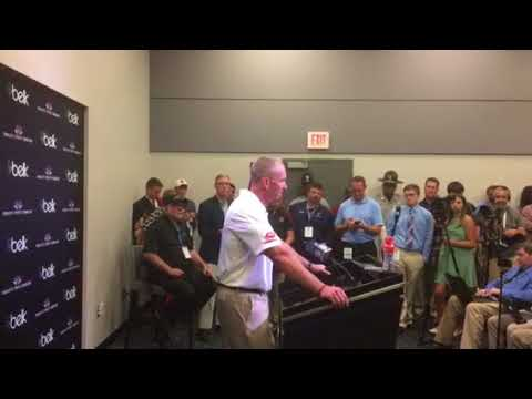 Doeren press conference after the loss to South Carolina