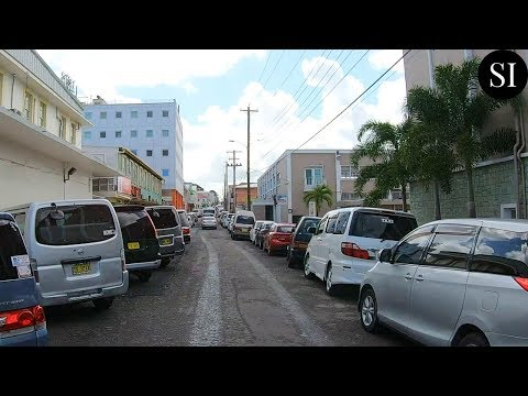 Driving Around Antigua | Antigua and Barbuda | Caribbean | 4K