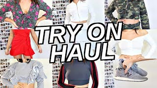 HUGE TRY ON CLOTHING HAUL | Princess Polly Fashion Nova & More