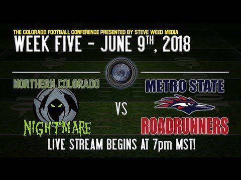 Week 5: NOCO Nightmare vs Metro Roadrunners - 6/9/18 Mp3