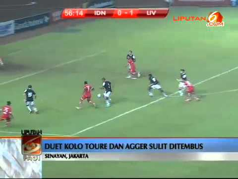 Indonesia XI VS Liverpool 0-2 (20 Juli 2013)
