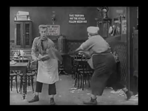 Fatty Arbuckle   Silly Fight   The Waiters' Ball 1916