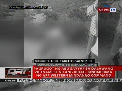 Panayam kay Lt. Gen. Carlito Galvez Jr. Commander, AFP Western Mindanao Command