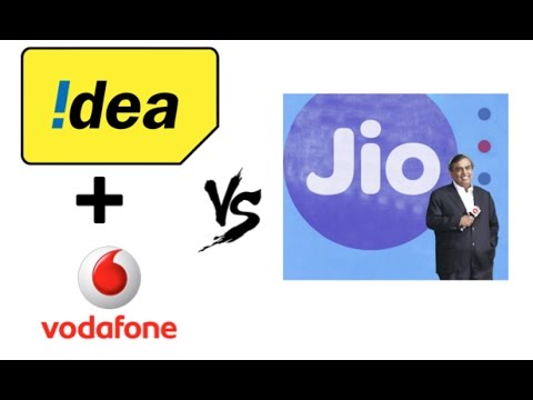 Idea Vodafone Merger against Reliance Jio - Full analysis -
