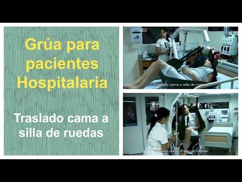 Grua traslado paciente traslado cama a silla de ruedas - Sillas de ruedas de traslado ...