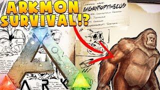 BIGFOOT HUNTING (MAKING A BACCA FAMILY) - ARK SURVIVAL EVOLVED POKEMON MOD (ARKMON) #17