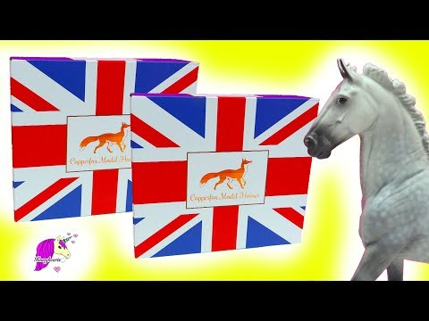 Sold Out Limited UK CopperFox Model Horses - Honey Hearts C Video