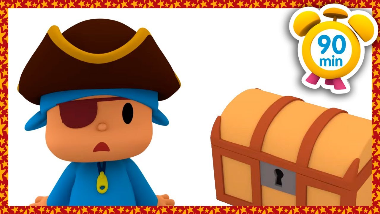 ☠️ POCOYO in ENGLISH - Pirate Treasures Adventure (NEW) Full Episodes | VIDEOS and CARTOONS for KIDS