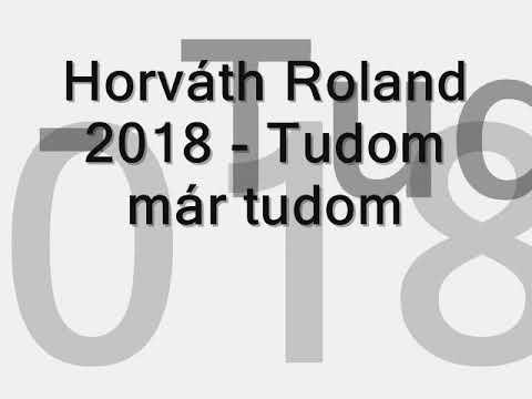 Horváth Roland 2018 - Tudom már tudom