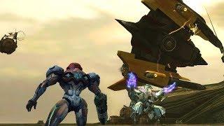 Metroid Prime 3 HD: All Bosses and Secret Ending / All Boss Fights (4K 60fps)