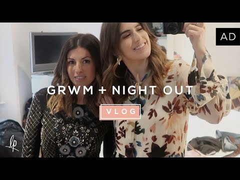 GET READY WITH ME & NIGHT OUT WITH MY SISTER | Lily Pebbles