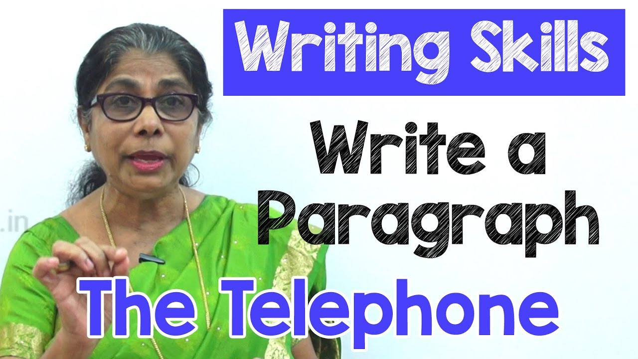 paragraph on telephone in english