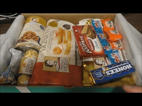 Try Treats Italy | Eating Sounds | Candy | ASMR