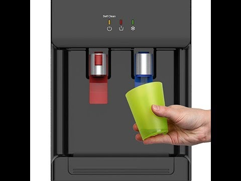 Avalon Countertop Self Cleaning Bottleless Water Cooler Water Dispenser - Hot and Cold Water