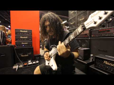 Marzi Montazeri about his Washburn signature
