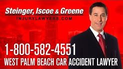 West Palm Beach Car Accident Lawyer | 1-800-582-4551