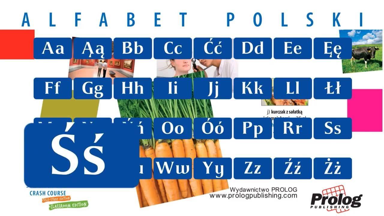 alfabet polski polish alphabet youtube
