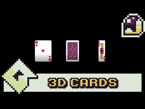 3D Cards In GameMaker | Rotating Effect [Only 1 Script]