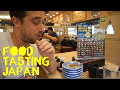 Japan food tasting in Osaka Vlog
