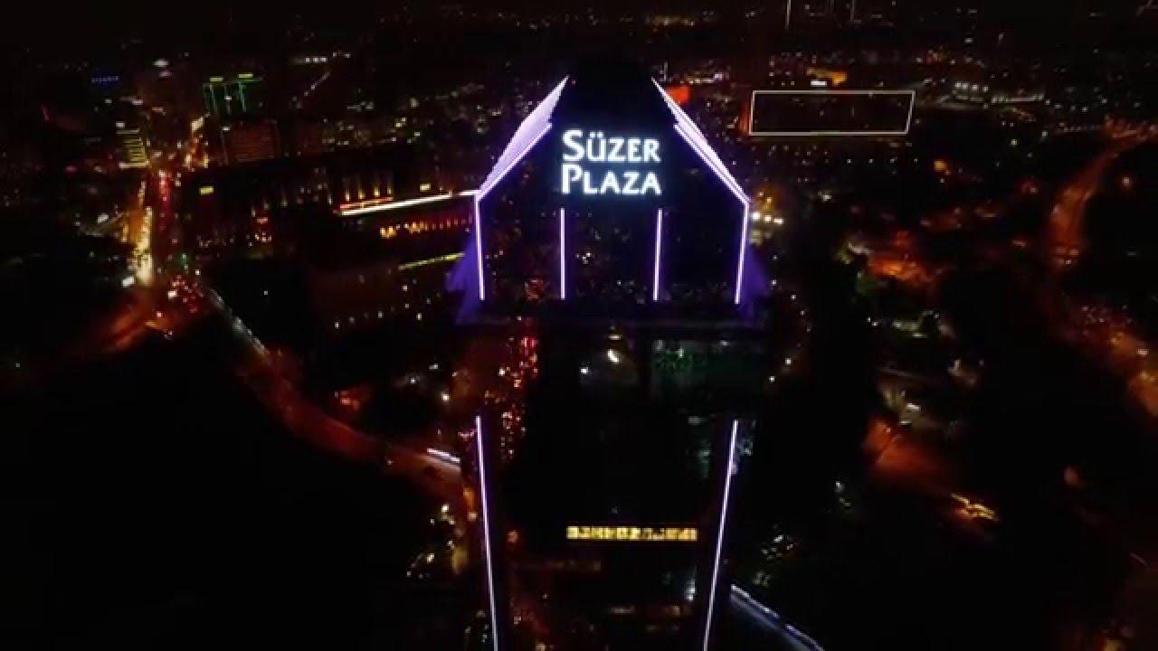 Süzer Plaza The Ritz Carlton Led Light Show