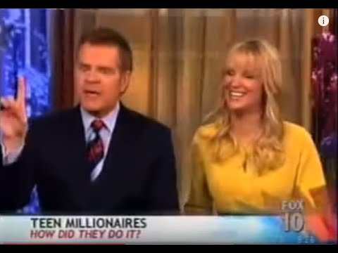 The secret success. Teenage Millionaires Earn $100,000 per Month