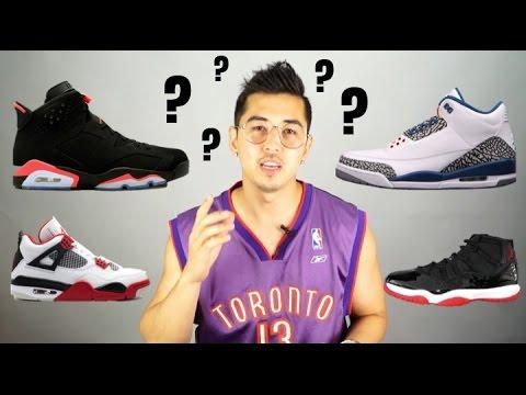 My Top 5 Jordan Shoes
