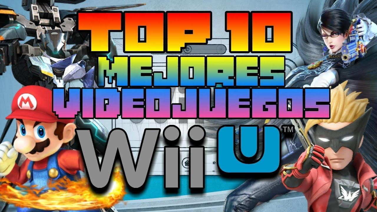Top 10 Mejores Juegos De Wii U La Consola Sin Juegos Youtube