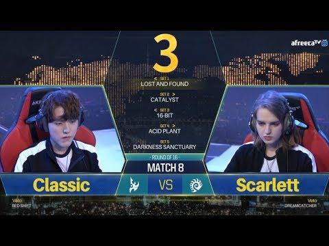[GSL vs. the World 2018] Ro.16 Day2 Match4 Classic vs Scarlett