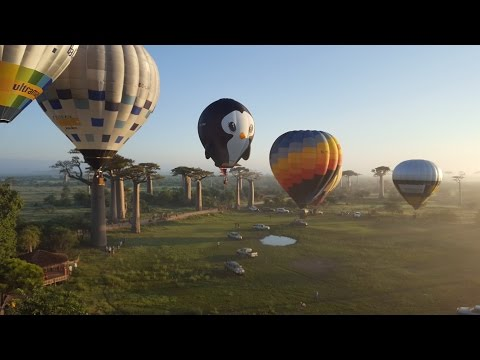 MADAGASCAR ULTRAMAGIC BALLOON EXPERIENCE 2016