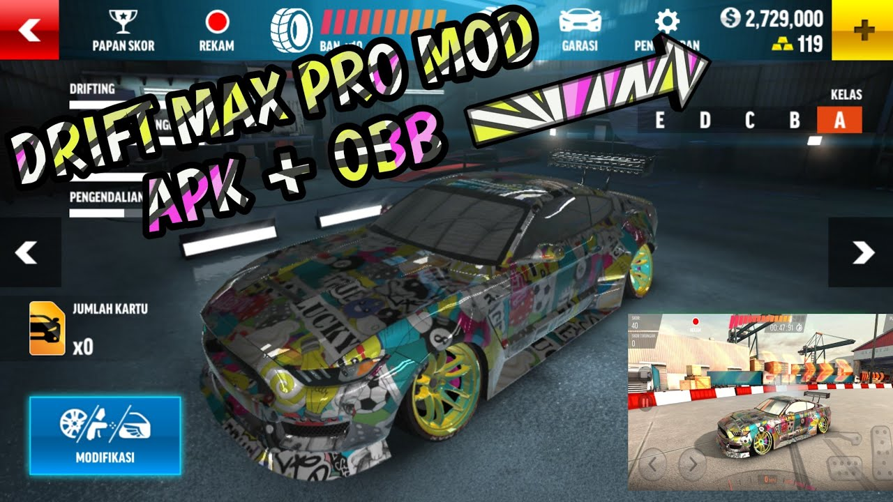 download game drift max pro mod apk 2018