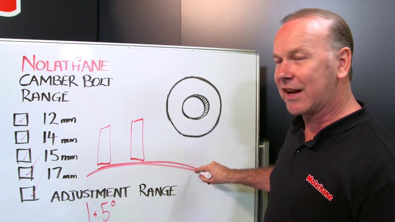 Mark Larkham explains Camber Bolts