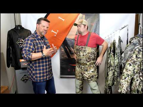 How to Size the Sitka Delta Waders